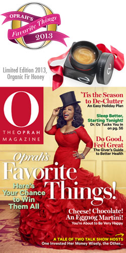 Oprah's Favorite Things 2013 | Euogia Limited Edition Organic Greek Fir Honey
